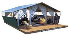 Палатки для глэмпинга