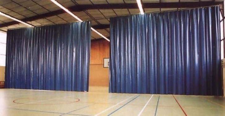 Штора завеса из ткани ПВХ Китай 300 г/м2